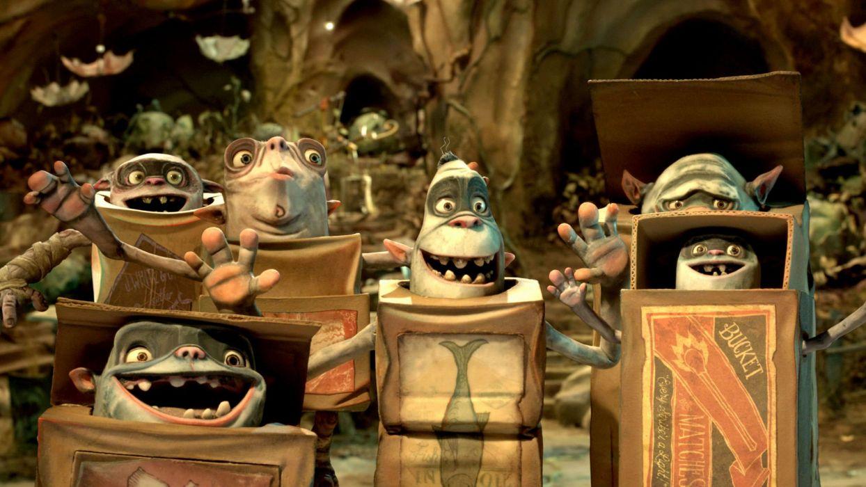 THE BOXTROLLS animation family comedy cartoon movie film adventure (26) wallpaper