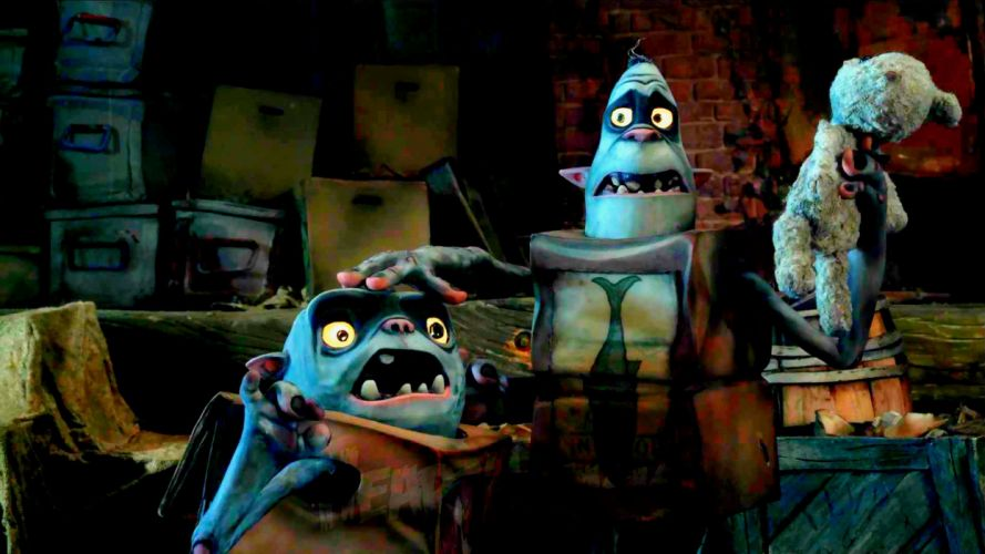 THE BOXTROLLS animation family comedy cartoon movie film adventure (36) wallpaper