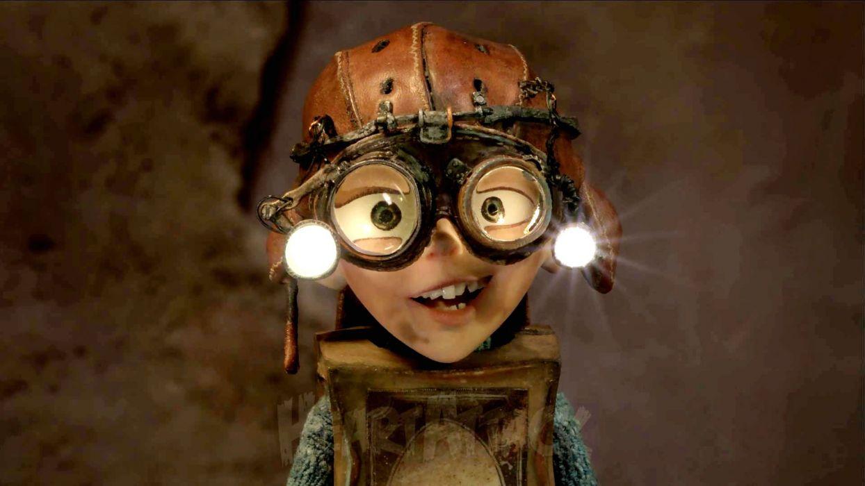 THE BOXTROLLS animation family comedy cartoon movie film adventure (35) wallpaper