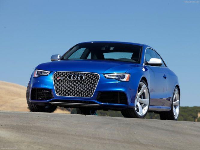 Audi RS5 2012 supercar sport car Germany sportcar wallpaper 4000x3000 blue wallpaper