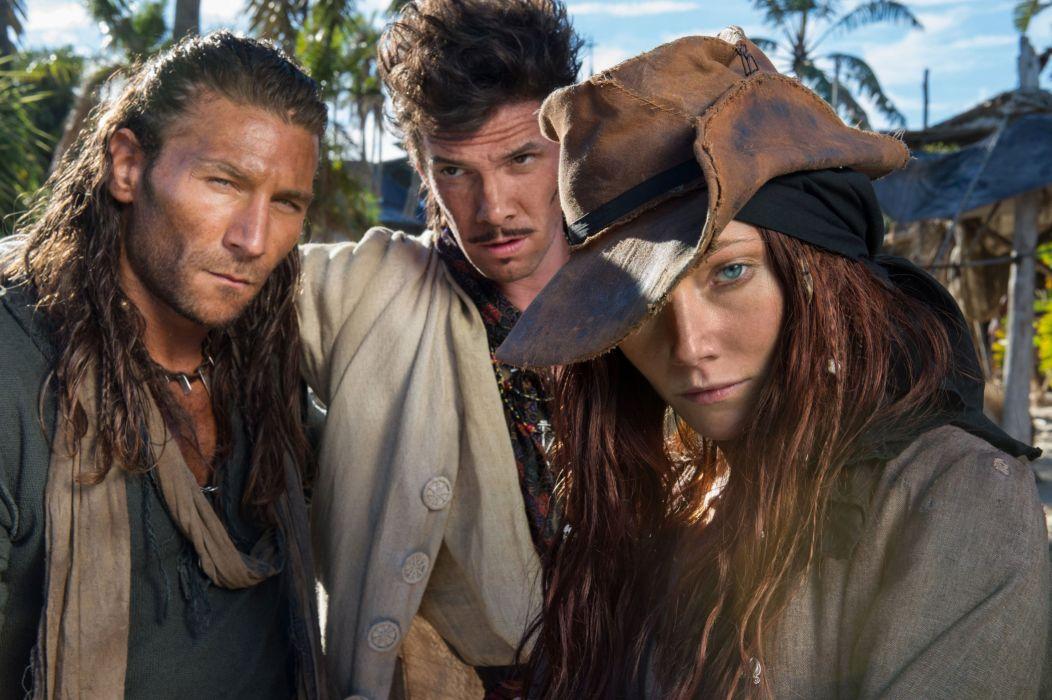 BLACK SAILS adventure drama fantasy series television pirates pirate starz (9) wallpaper