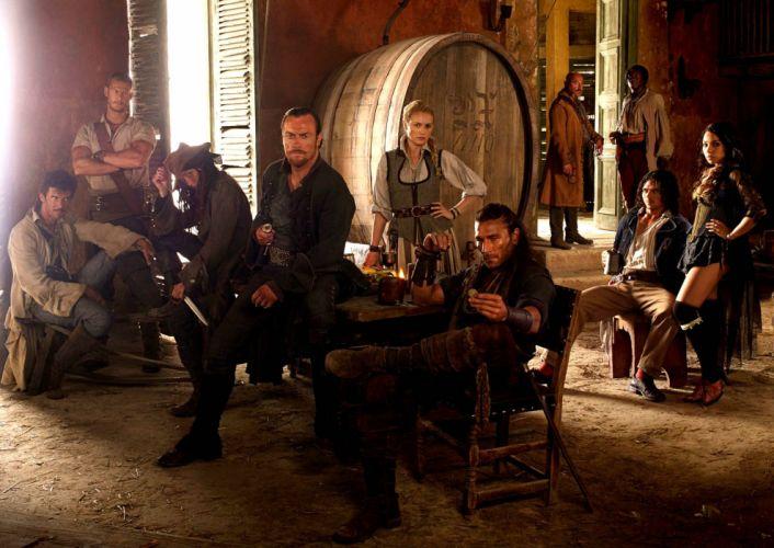 BLACK SAILS adventure drama fantasy series television pirates pirate starz (31) wallpaper