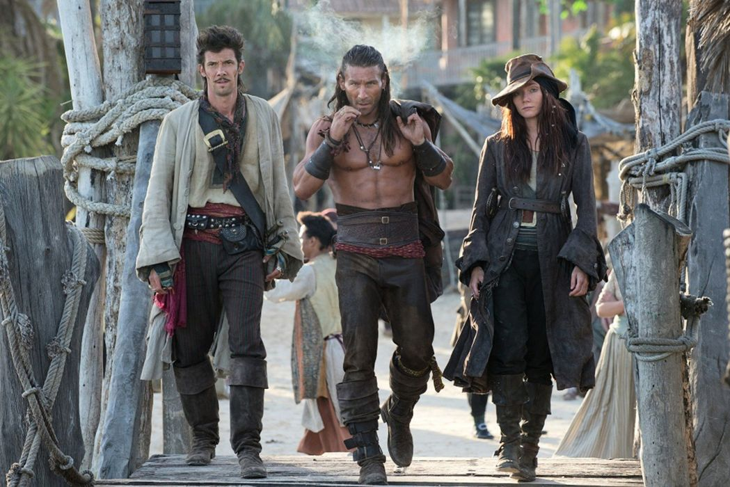 BLACK SAILS adventure drama fantasy series television pirates pirate starz (47) wallpaper