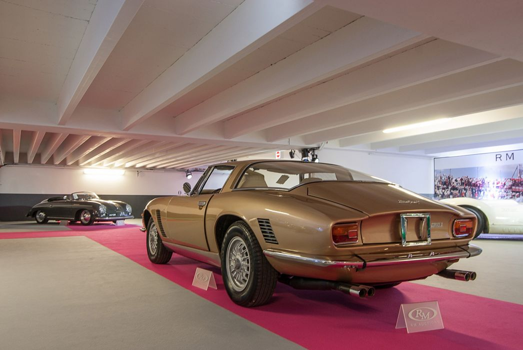 RM's Auction in Monaco classic car 1972 Iso Grifo IR8 Targa Conversion 2 4000x2677 wallpaper