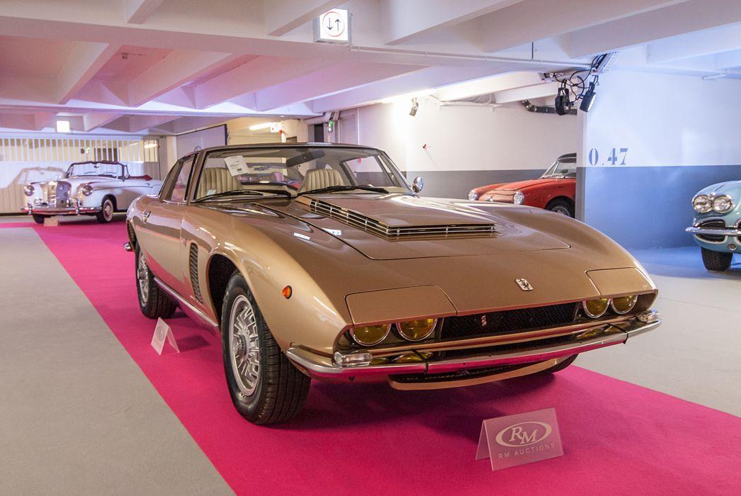 RM's Auction in Monaco classic car 1972 Iso Grifo IR8 Targa Conversion 4000x2677 wallpaper
