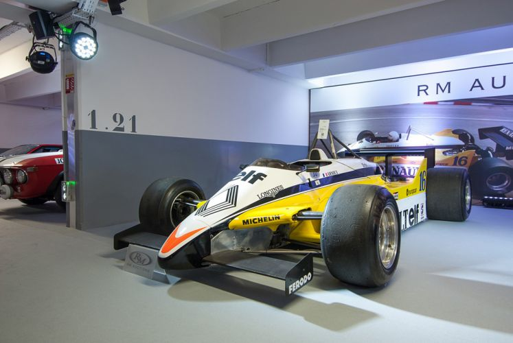 RM's Auction in Monaco classic car race racing 1982 Renault RE30B F1B7 4000x2677 wallpaper