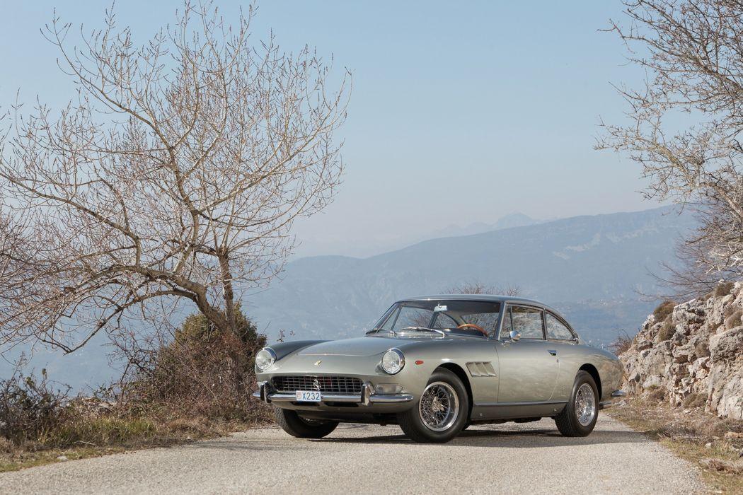 RM's Auction in Monaco classic car 1966 Ferrari 330 GT 2+2 SeriesII 4000x2667 wallpaper