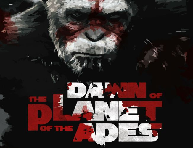 DAWN-OF-THE-APES action drama sci-Fi dawn planet apes monkey adventure (5) wallpaper