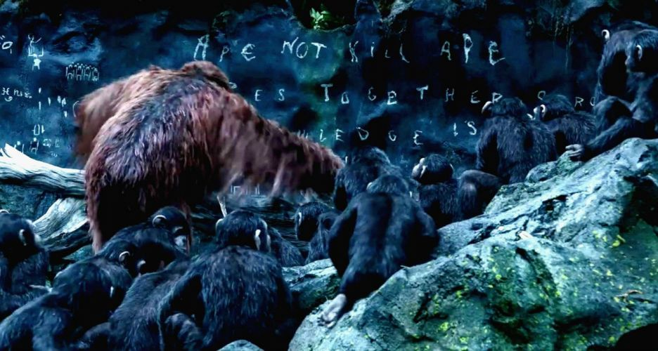 DAWN-OF-THE-APES action drama sci-Fi dawn planet apes monkey adventure (7) wallpaper