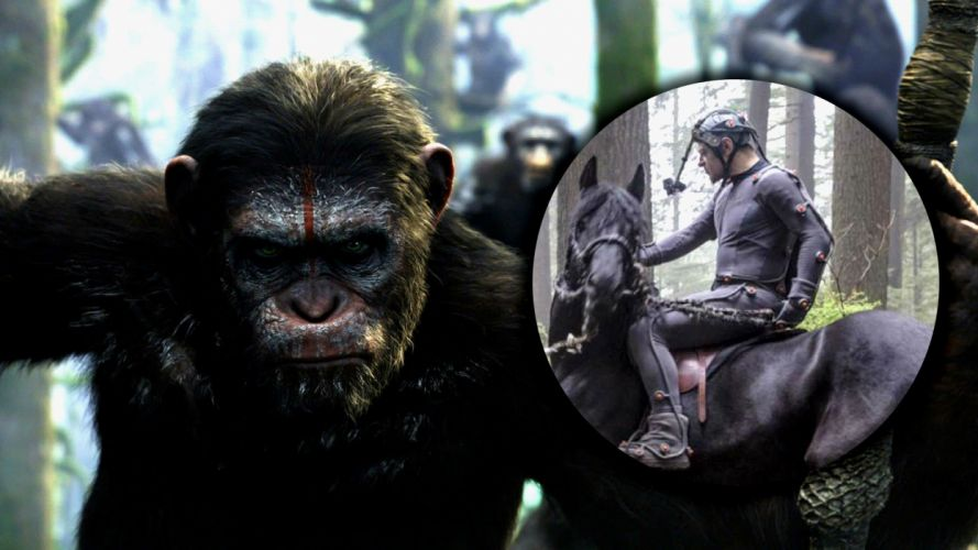 DAWN-OF-THE-APES action drama sci-Fi dawn planet apes monkey adventure (15) wallpaper