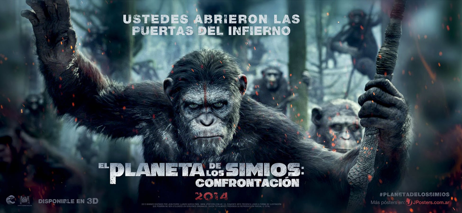 Dawn Of The Planet Of The Apes 2014 Wallpapers