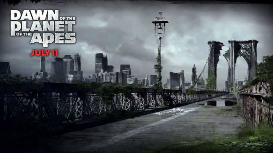 DAWN-OF-THE-APES action drama sci-Fi dawn planet apes monkey adventure (53) wallpaper