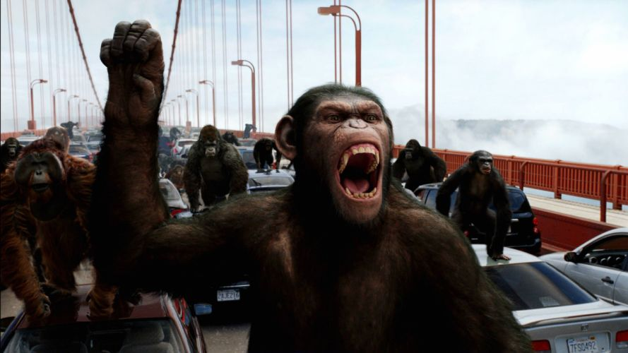 DAWN-OF-THE-APES action drama sci-Fi dawn planet apes monkey adventure (62) wallpaper