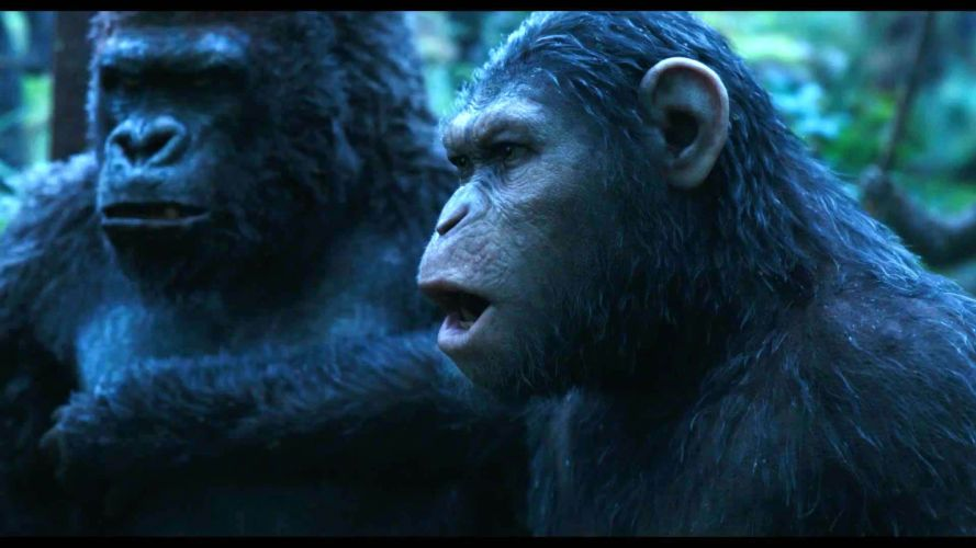 DAWN-OF-THE-APES action drama sci-Fi dawn planet apes monkey adventure (61) wallpaper