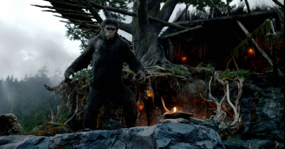 DAWN-OF-THE-APES action drama sci-Fi dawn planet apes monkey adventure (70) wallpaper