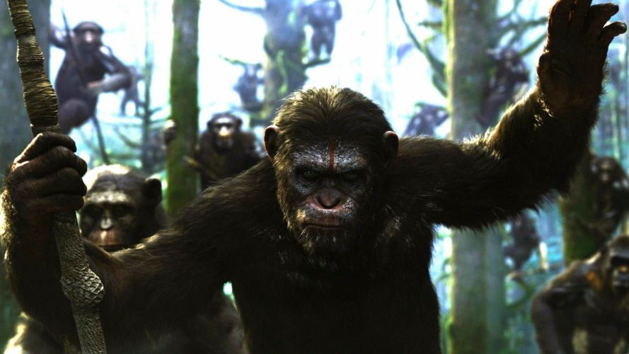 DAWN-OF-THE-APES action drama sci-Fi dawn planet apes monkey adventure (68) wallpaper