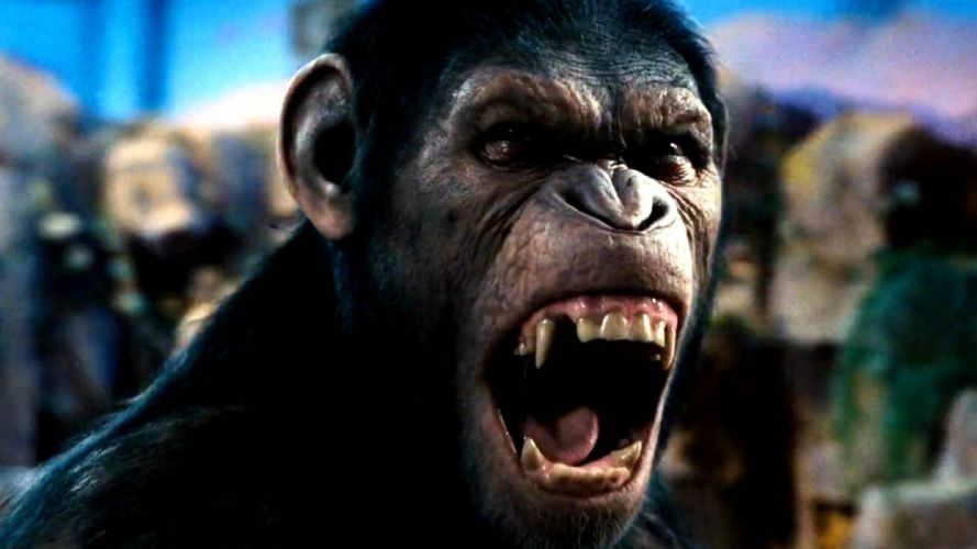 DAWN-OF-THE-APES action drama sci-Fi dawn planet apes monkey adventure (65) wallpaper
