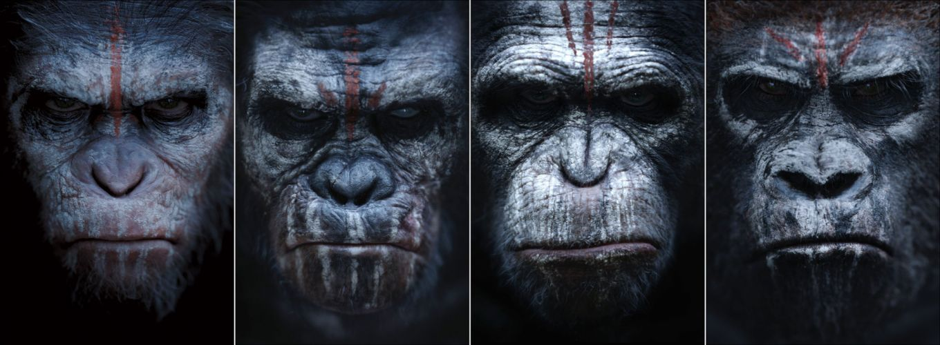 DAWN-OF-THE-APES action drama sci-Fi dawn planet apes monkey adventure (64) wallpaper
