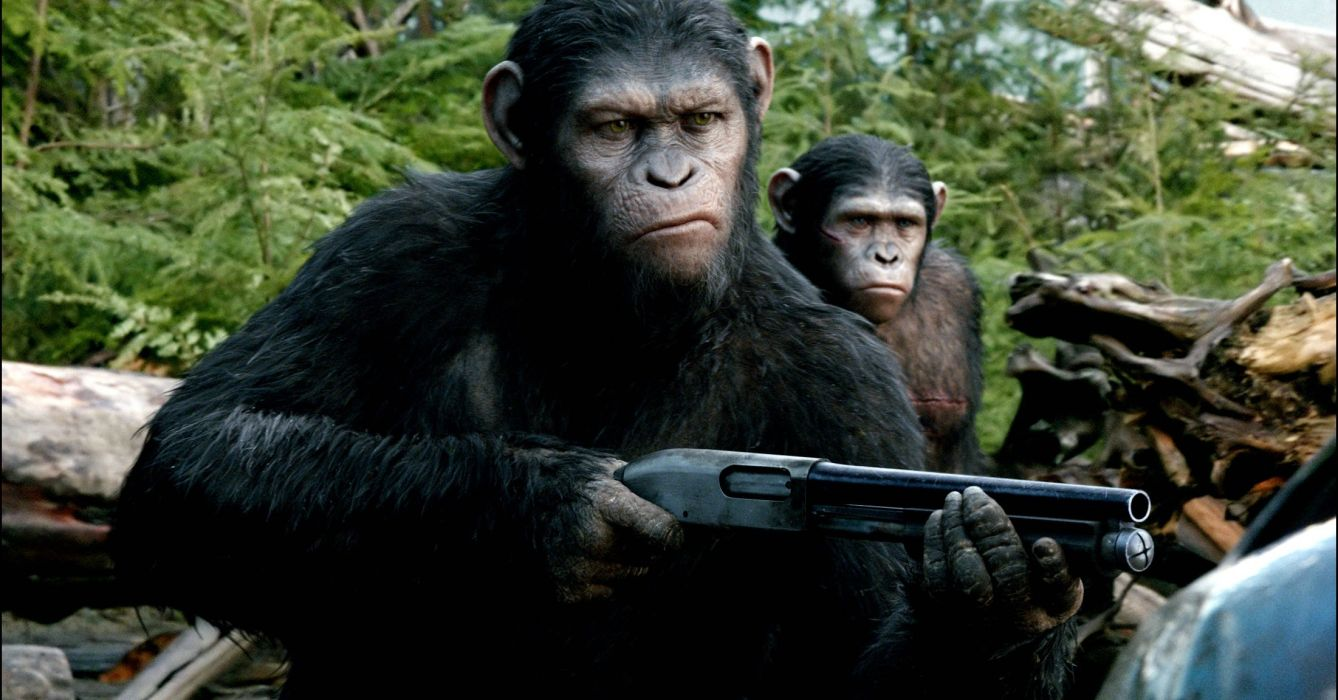 DAWN-OF-THE-APES action drama sci-Fi dawn planet apes monkey adventure (74) wallpaper