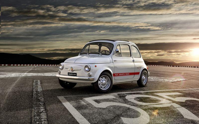 2014 Fiat 595 Abarth 50th-Anniversary car Italy 4000x2500 2 wallpaper