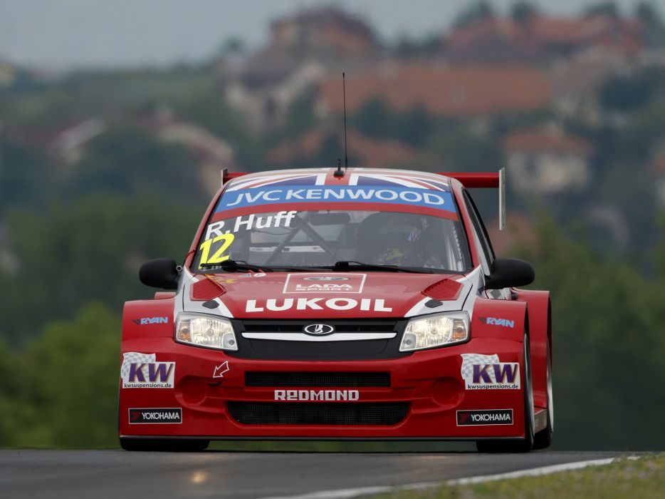 lada granta wtcc race car racing 2014 Russia 4000x3000 wallpaper