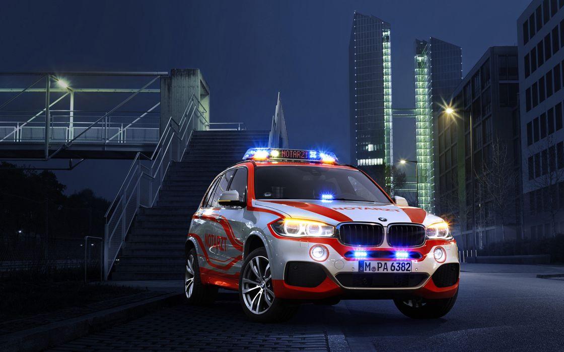 2014 BMW X5-xDrive30d Paramedic car Germany 4000x2500 wallpaper