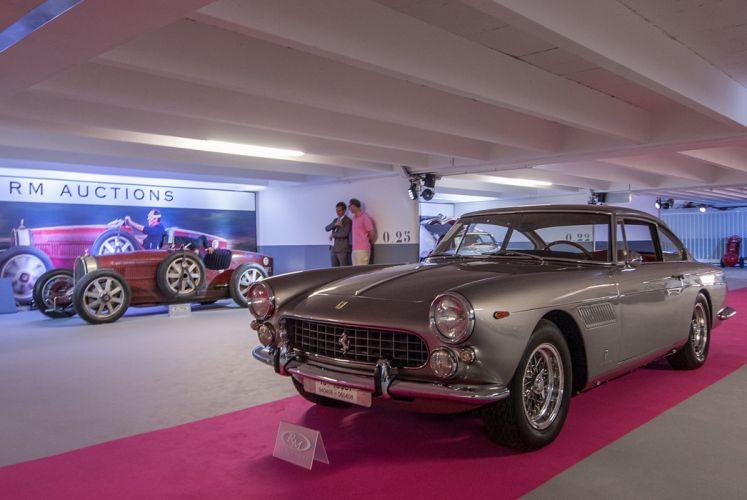 RM's Auction in Monaco classic car 1962 Ferrari 250 GTE 2+2 SeriesII 4000x2677 wallpaper