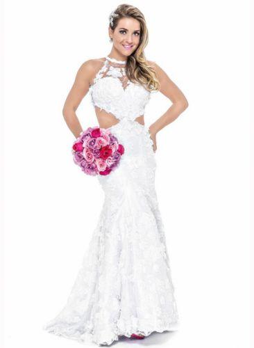 Monique Alfradique brazilian actress Brazil blonde woman babe wedding-dress 2194x3000 wallpaper