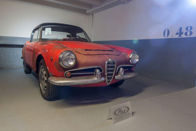 RM's Auction in Monaco classic car 1965 Alfa Romeo Giulia 1600 Spider Veloce 4000x2677 wallpaper