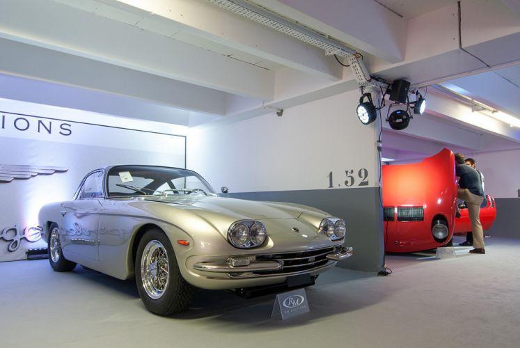 RM's Auction in Monaco classic car 1968 Lamborghini 400GT 2+2 4000x2677 wallpaper