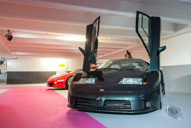 RM's Auction in Monaco classic car supercar France 1993 Bugatti EB110 4000x2677 wallpaper