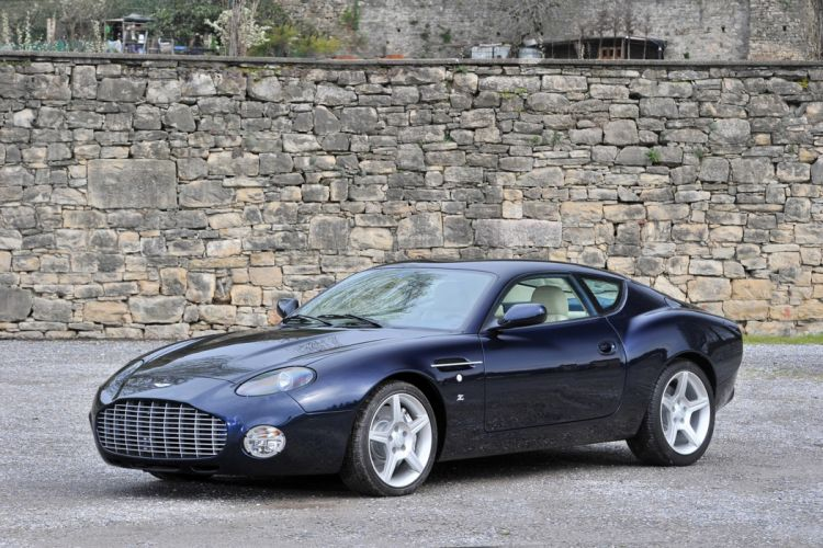 RM's Auction in Monaco classic car supercar 2004 Aston Martin DB7 Zagato 4000x2667 wallpaper