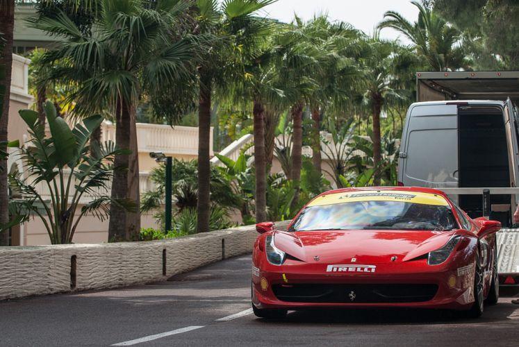 RM's Auction in Monaco classic car supercar Italy Ferrari 458 Challenge 4000x2677 wallpaper