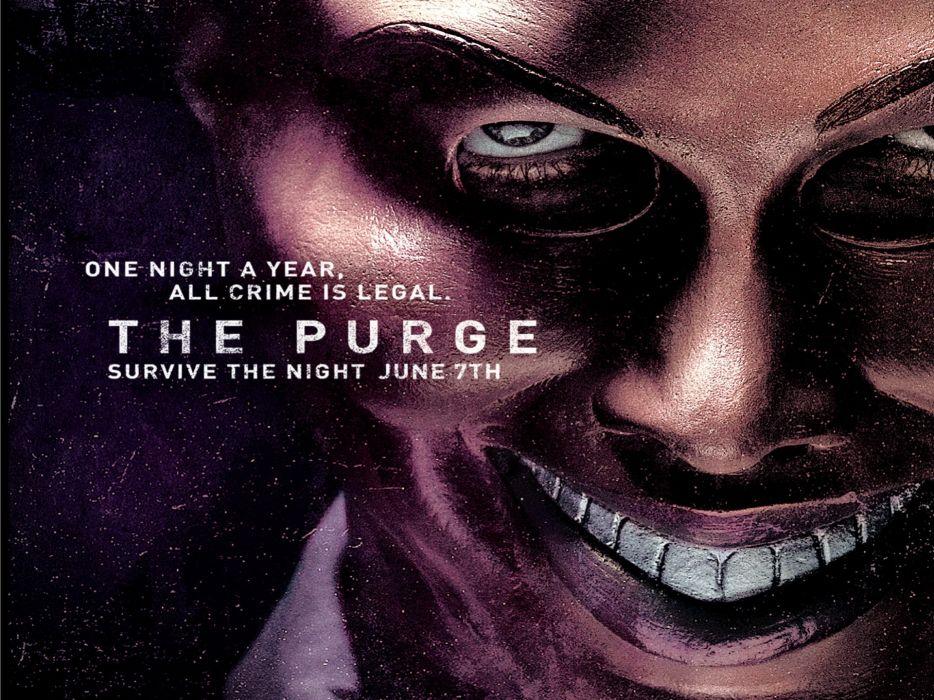 THE PURGE horror sci-fi thriller dark anarchy (14) wallpaper