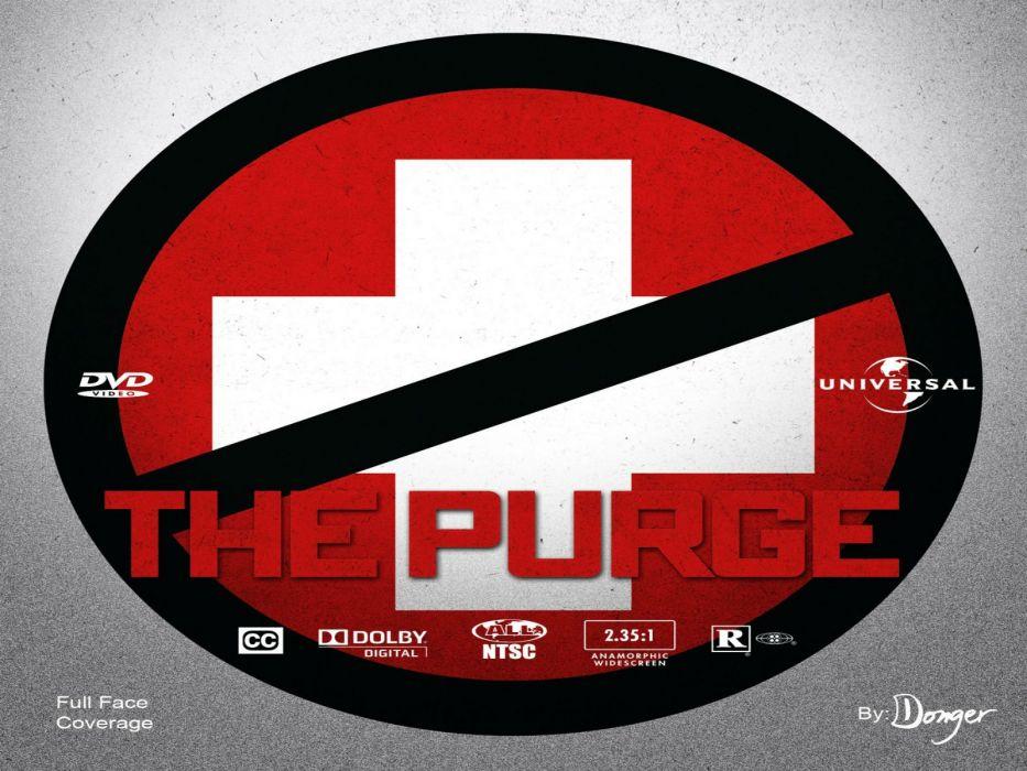 THE PURGE horror sci-fi thriller dark anarchy (19) wallpaper