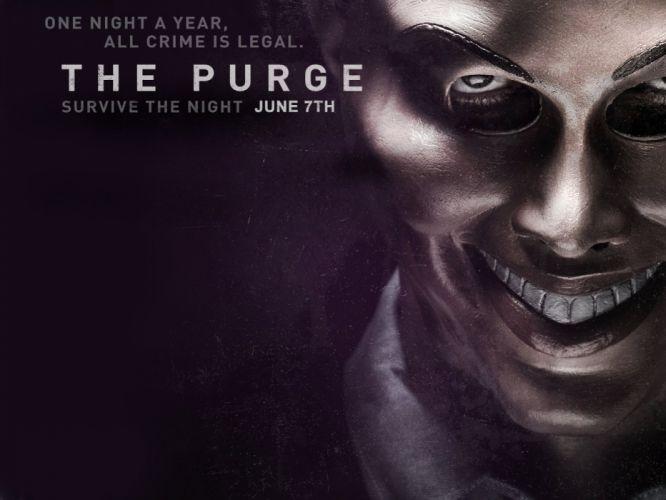 THE PURGE horror sci-fi thriller dark anarchy (36) wallpaper