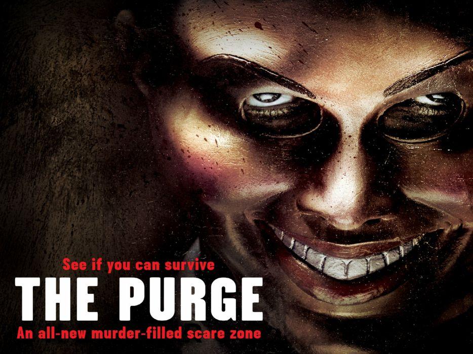 THE PURGE horror sci-fi thriller dark anarchy (37) wallpaper