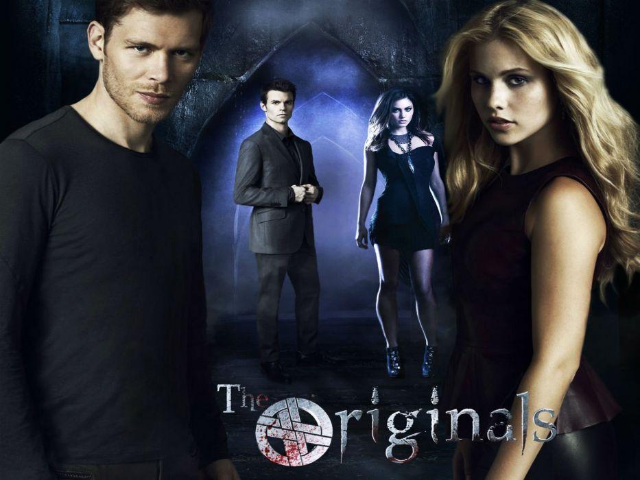THE-ORIGINALS drama fantasy horror series originals vampire (48) wallpaper