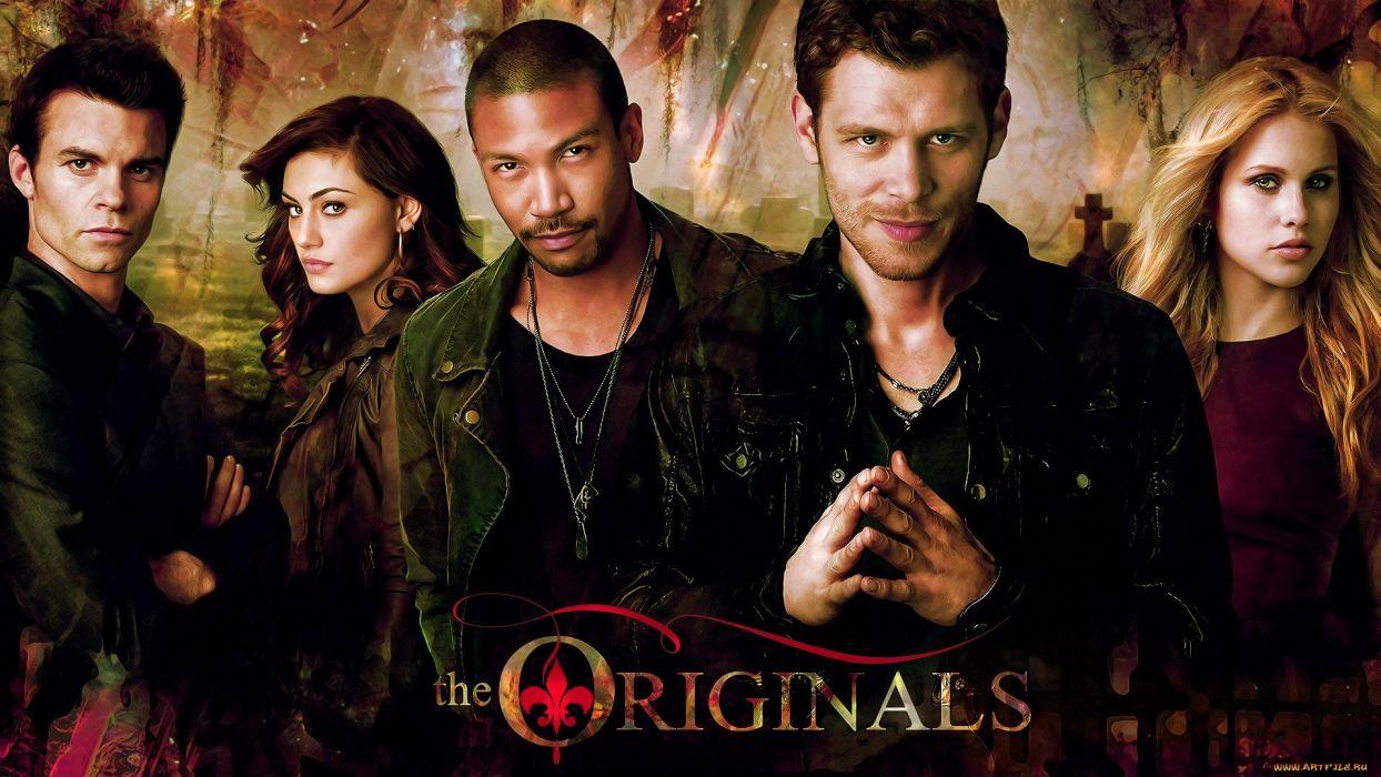THE-ORIGINALS drama fantasy horror series originals vampire (74) wallpaper