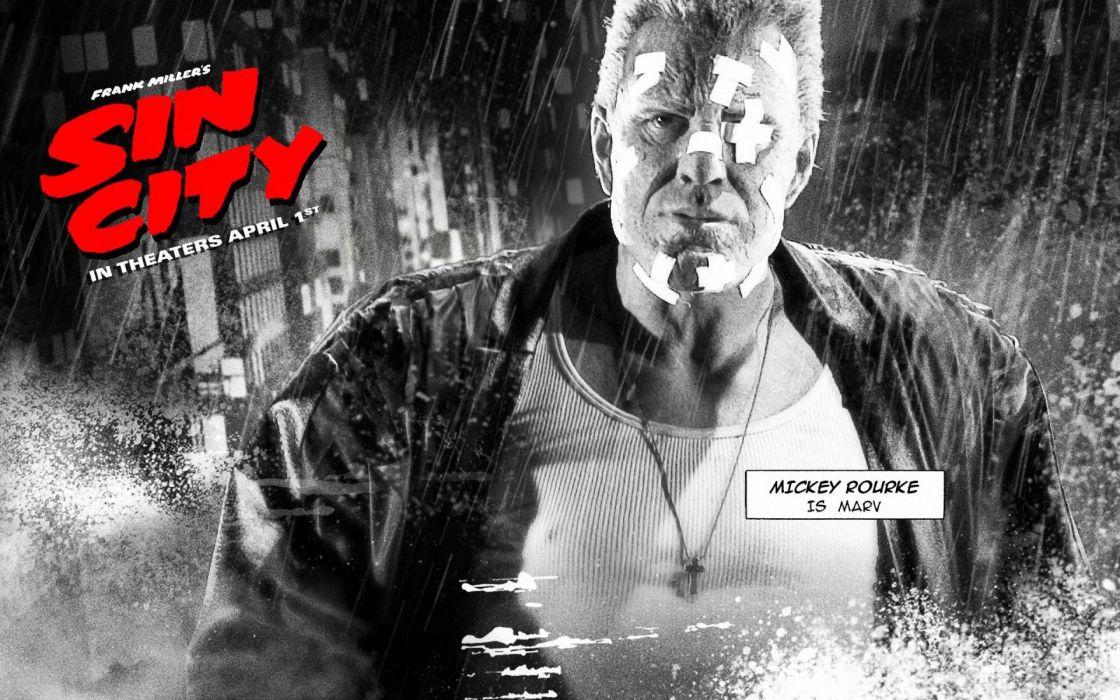 SIN CITY action crime thriller dame kill film (23) wallpaper