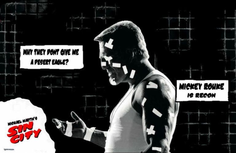SIN CITY action crime thriller dame kill film (22) wallpaper
