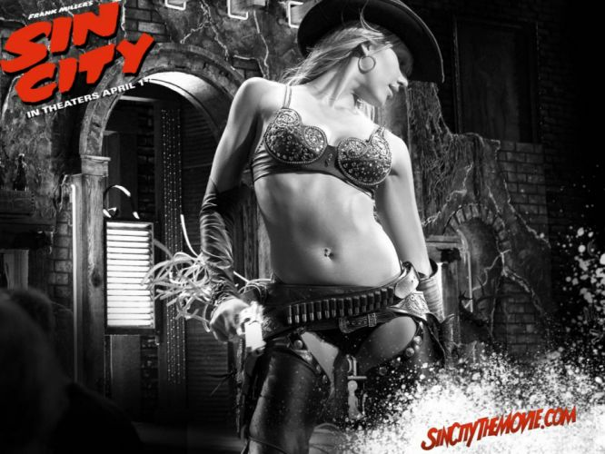 SIN CITY action crime thriller dame kill film (18) wallpaper