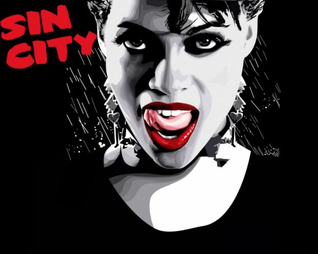 SIN CITY action crime thriller dame kill film (25) wallpaper