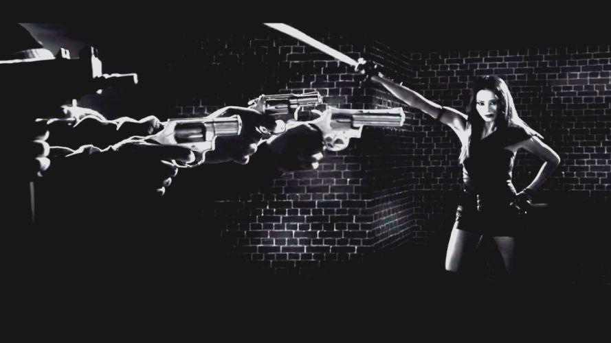 SIN CITY action crime thriller dame kill film (35) wallpaper