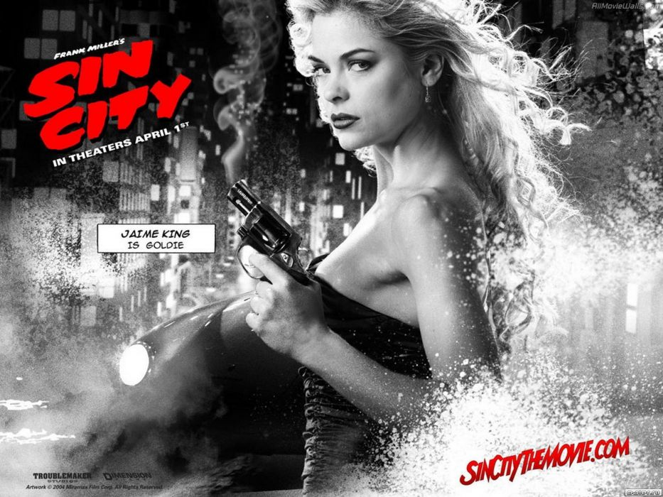 SIN CITY action crime thriller dame kill film (42) wallpaper