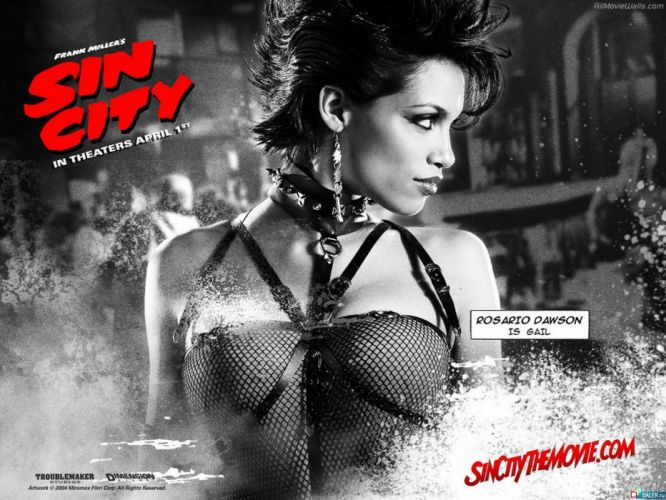 SIN CITY action crime thriller dame kill film (41) wallpaper