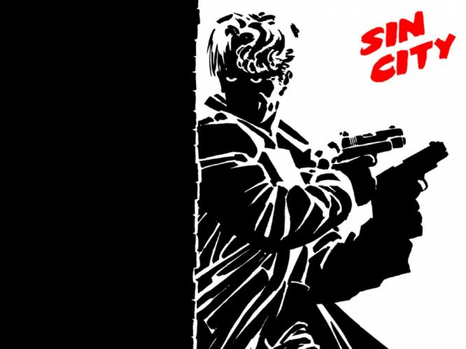 SIN CITY action crime thriller dame kill film (48) wallpaper
