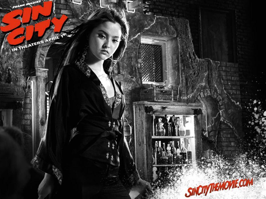 SIN CITY action crime thriller dame kill film (87) wallpaper