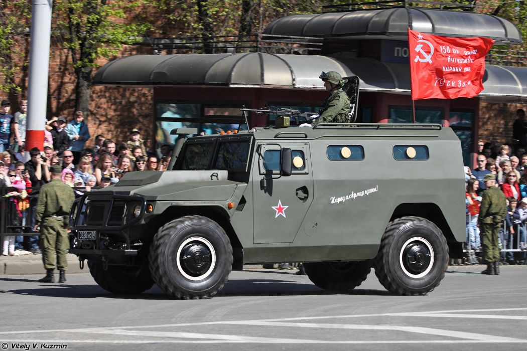 2014 Victory Day Parade-in-Nizhny-Novgorod Russia Military Russian Army Red-Star 4x4 Special armored vehicle SBM VPK-233136 2 4000x2667 wallpaper