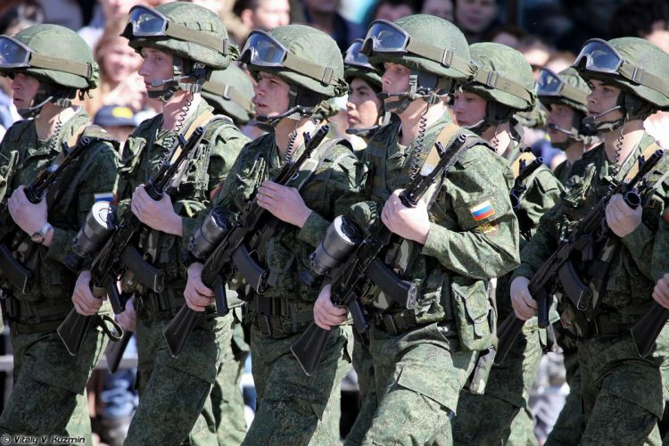 2014 Victory Day Parade-in-Nizhny-Novgorod Russia Military Russian Army Red-Star 9th Separate Motor Rifle Brigade 2 4000x2667 wallpaper